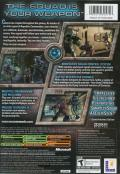Star Wars: Republic Commando Xbox Back Cover