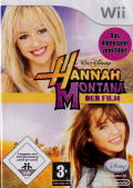 Hannah Montana: The Movie Wii Front Cover
