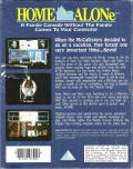 Home Alone DOS Back Cover
