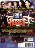 Iron Roses Windows Back Cover