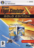Microsoft Flight Simulator X (Gold Edition) Windows Front Cover