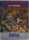 Streets of Rage Game Gear Front Cover