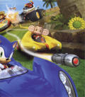 Sonic & SEGA All-Stars Racing PlayStation 3 Inside Cover Right
