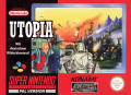 Utopia: The Creation of a Nation SNES Front Cover