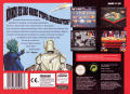 Utopia: The Creation of a Nation SNES Back Cover