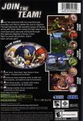 Sonic Heroes Xbox Back Cover
