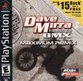 Dave Mirra Freestyle BMX: Maximum Remix PlayStation Front Cover