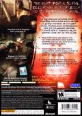Condemned: Criminal Origins Xbox 360 Back Cover