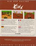 Big Red Racing DOS Back Cover