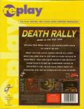 Death Rally DOS Back Cover
