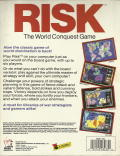 The Computer Edition of Risk: The World Conquest Game DOS Back Cover