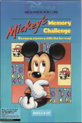Mickey's Memory Challenge DOS Front Cover