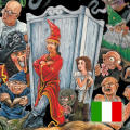 Simon the Sorcerer II: The Lion, the Wizard and the Wardrobe iPad Front Cover Italian language version