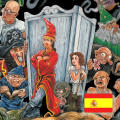 Simon the Sorcerer II: The Lion, the Wizard and the Wardrobe iPad Front Cover Spanish language version