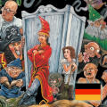 Simon the Sorcerer II: The Lion, the Wizard and the Wardrobe iPad Front Cover German language version