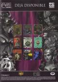 Baldur's Gate II: Throne of Bhaal Windows Inside Cover Right side