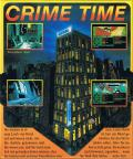 Crime Time Commodore 64 Back Cover