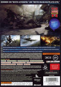 Battlefield 3 Xbox 360 Back Cover