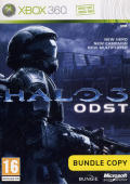 Halo 3: ODST Xbox 360 Front Cover