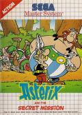 Astérix and the Secret Mission SEGA Master System Front Cover