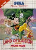Land of Illusion starring Mickey Mouse SEGA Master System Front Cover