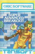 Super Advanced Breakout Oric Front Cover
