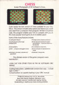 Chess Oric Back Cover