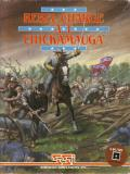 Rebel Charge at Chickamauga Commodore 64 Front Cover