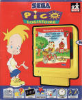 Richard Scarry's Huckle and Lowly's Busiest Day Ever SEGA Pico Front Cover