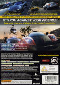 Need for Speed: Hot Pursuit Xbox 360 Back Cover