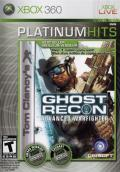 Tom Clancy's Ghost Recon: Advanced Warfighter Xbox 360 Front Cover