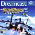 AeroWings 2: Air Strike Dreamcast Front Cover