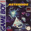 Asteroids Game Boy Front Cover