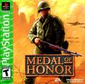 Medal of Honor PlayStation Front Cover