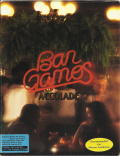Bar Games DOS Front Cover