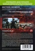 Mass Effect 3 Xbox 360 Back Cover