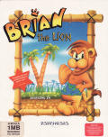 Brian the Lion Starring In: Rumble in the Jungle Amiga Front Cover