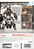Rygar: The Legendary Adventure Wii Back Cover