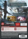 Mass Effect 3 Windows Back Cover
