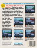 Test Drive II Scenery Disk: European Challenge DOS Back Cover