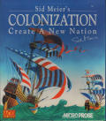 Sid Meier's Colonization Amiga Front Cover