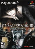 Fatal Frame III: The Tormented PlayStation 2 Front Cover