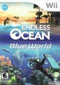 Endless Ocean: Blue World Wii Front Cover