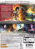 Dungeon Siege III Xbox 360 Back Cover