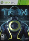 TRON: Evolution Xbox 360 Front Cover