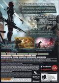 Mass Effect 3 Xbox 360 Inside Cover Alternate back
