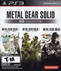 Metal Gear Solid HD Collection PlayStation 3 Front Cover