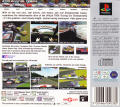 TOCA Touring Car Championship PlayStation Back Cover