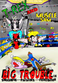 T-Rex and Muscle Sam: Big Trouble in Smashing Potatoes Federation Windows Front Cover