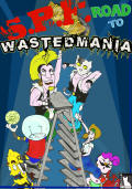 SPF: Road to Wastedmania Windows Front Cover